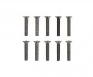 3x16mm 6-Kant-Senkk. Schraube Stahl(10)