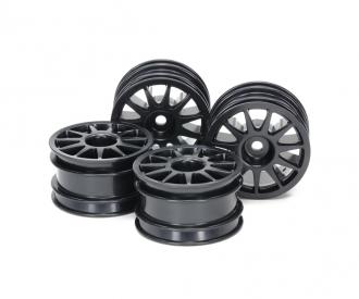 M-Chassis 11-spoke Wheel Black (4)