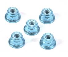 4mm Alu Stoppmutter Blau eloxiert (5)