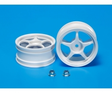 One-Piece 5-Spoke Wheel white 26mm (2)