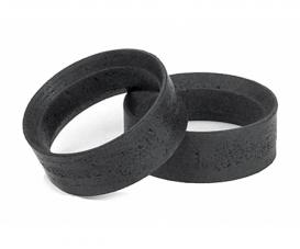 1:10 Reifeneinlagen (2) hart 24mm schw.