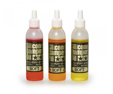 Silicone Damper Oil Set Soft#200/300/400