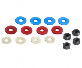 4mm Hard Lock-Nut & Spancer Set
