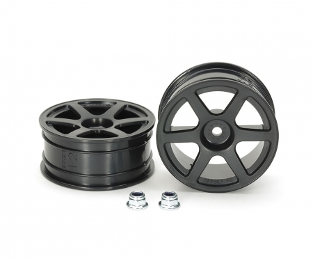 M-Narrow 6-Spoke Wheels (+2)