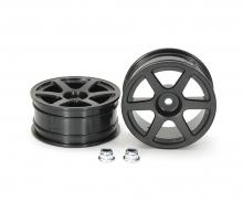 1:10 M-Narrow 6-Spoke Wheels *2 (+2)