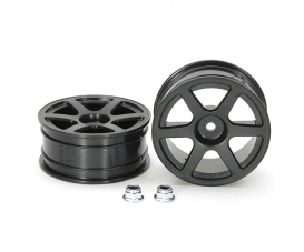 1:10 M-Narrow 6-Spoke Wheels *2 (+2)