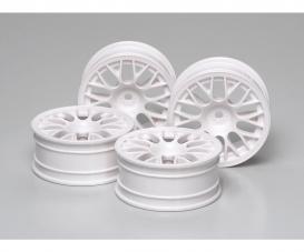1:10 Felgen (4) Y-Spei. weiß 24mm +2mm