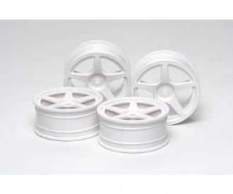 1:10 M-Narrow Wh 5-Spk Wheels *2