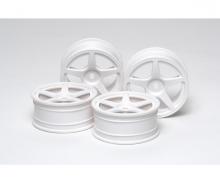 1:10 M-Narrow Wh 5-Spk Wheels (2) 24mm