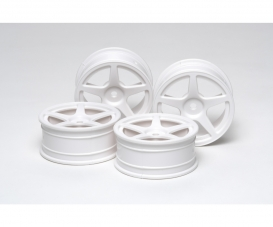 1:10 M-Narrow Wh 5-Spk Wheels (2) 24mm