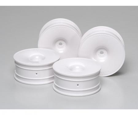 1:10 Dish-Felgen 24mm weiss (4) Offset+2