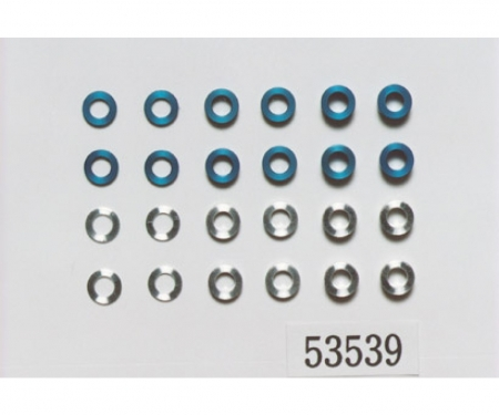 Aluminum Spacer Set 5,5mm