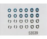 Aluminum Spacer Set 5,5mm