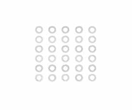 3mm Shim-Set (3x10) 0.1/0.2/0.3mm