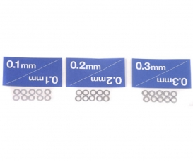 Distanzsch-Set 3mm (3x10) 0,1/0,2/0,3mm