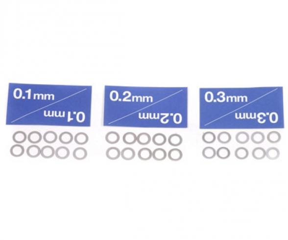 Distanzscheiben-Set 5mm (10) 0,1/0,2/0,3