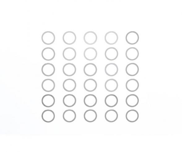 Shim Set 10mm (10) 0,1-0,3
