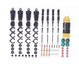 TT-01/02 Dämpfer-Set (4) CVA MINI