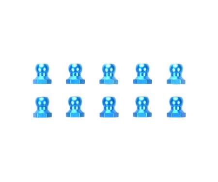 Kugelmuttern (10) 5mm Alu blau