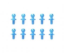 Alum. Ball Connector blue 5mm