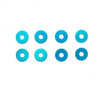Rad-Distanzscheibe (8) BLAU