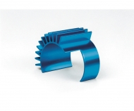 DF-02/TT-01 Alum. Motor Heat Sink Bl.an.