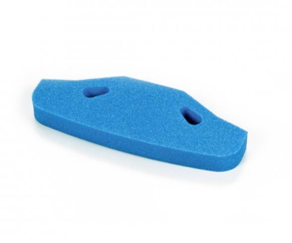TT-01/TGS Urethan Stossfänger Blau