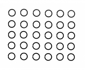 Shim Set 6mm (10) x 0,1/0,2/0,3