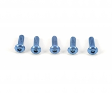 3x10mm Socket Screw / Alum. Blue (5)