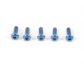 3x10mm Sockelschraube Alu blau (5)