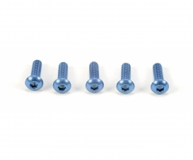3x10mm Socket Screw / Blue*5