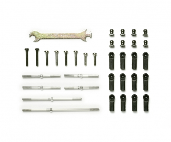 DT-02 Turnbuckle Suspen. Arm&Tie-Rod Set