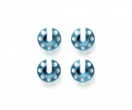 Alum. Damper Retainer -1mm (4) Blue anod