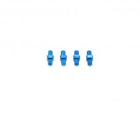 3x10mm Alum. Turnbuckle Shaft (4) Blue