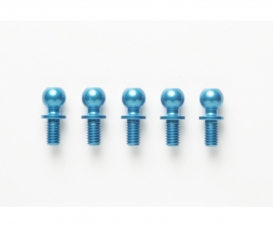 DB-01 5x5mm Al.Ball Connector(5)Bl.anod.
