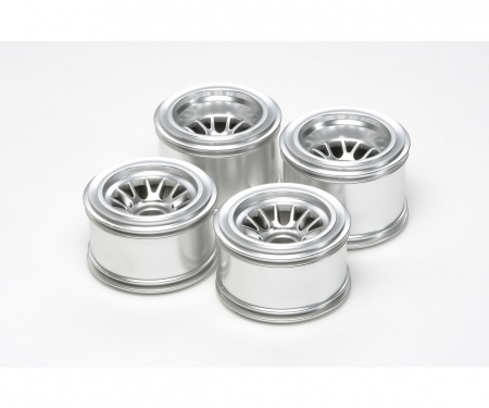 F104 Plated Mesh Wheels f.Rubber Tires