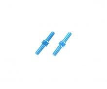 Alu Li/Re-Gewindestangen 3x18mm (2) blau