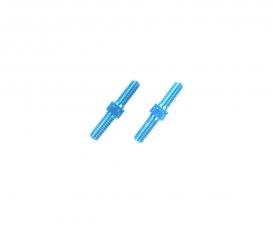 Alum. Turnbuckle Shaft 3x18mm (2) blue