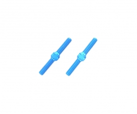 3x23mm Alum. Turnbuckle Shaft (2) blue