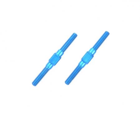 3x32mm Alum. Turnbuckle Shaft (2) blue