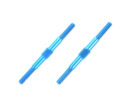 3x42mm Alum. Turnbuckle Shaft (2) blue