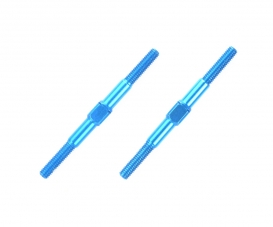 3x42mm Alum. Turnbuckle Shaft (2) blue