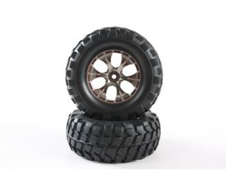 CC01/HL RB Tires+Taper 6-S Whl.