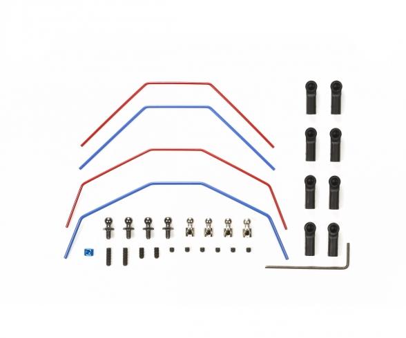 DT-03 Stabilizer Set front/rear (2+2)