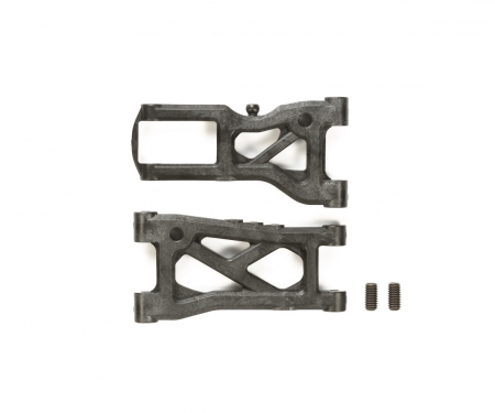 TRF418 D-Parts Suspens. Arms (1+1) Carb.