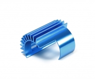 TT-02 Alum. Motor Heat Sink Blue anodiz.