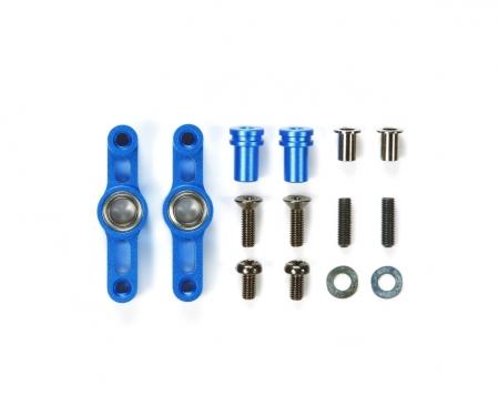 TT-02 Alu Lenkhebel-Set Blau eloxiert