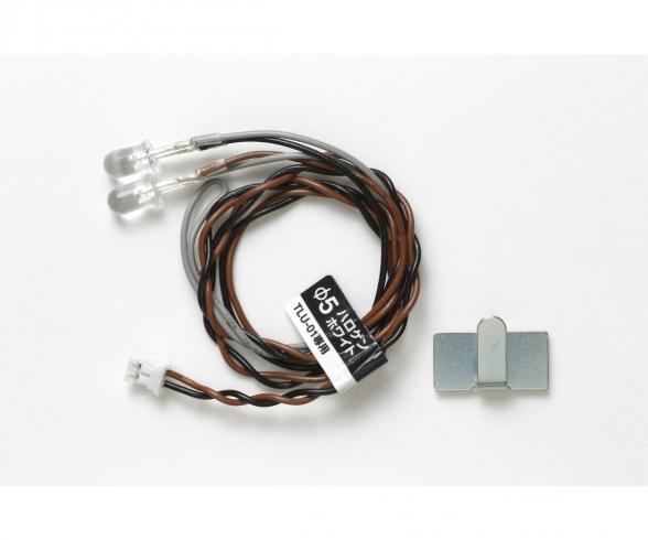 LED 5mm Halogen, white TLU-01