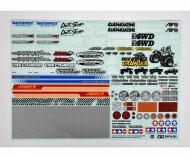 TAMIYA Off-Road Stickers