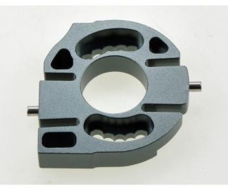 CC-01 Alu Motorhalterung Gun Metal elox.